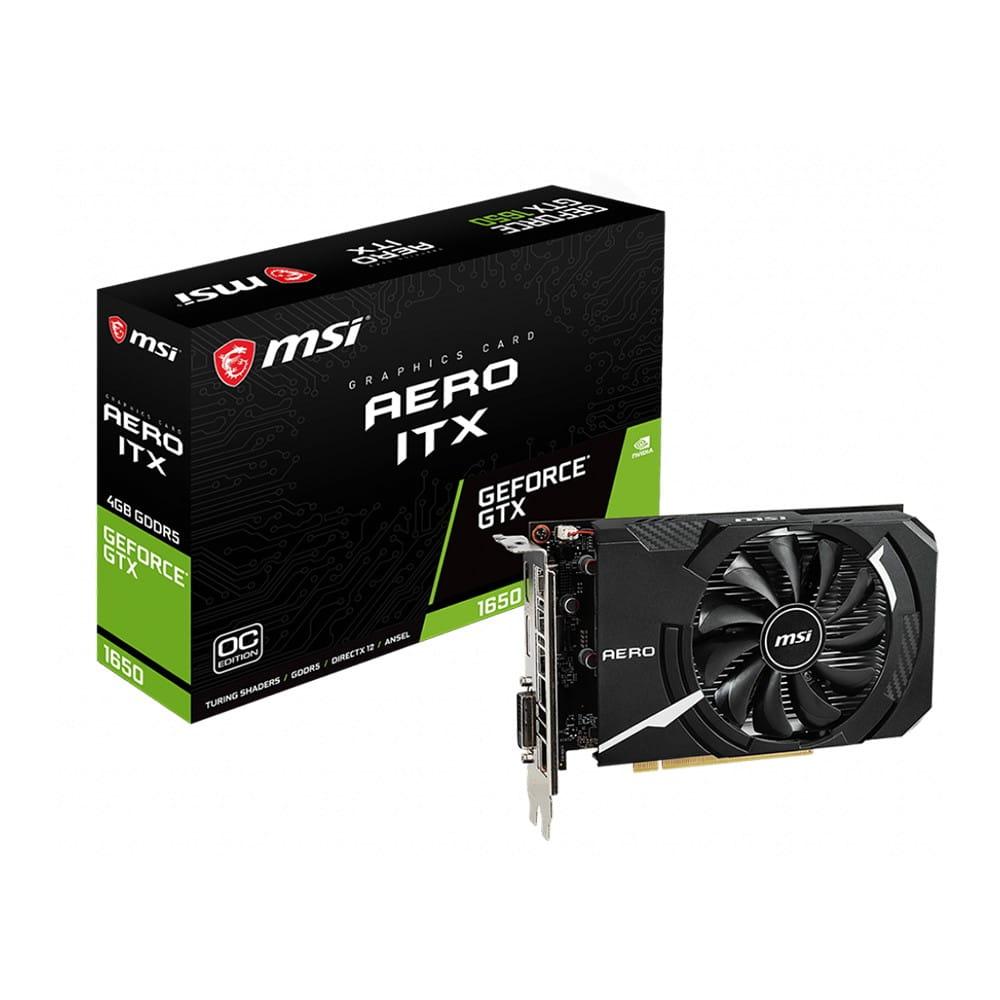 MSI GTX 1650 Aero ITX OC 4Gb GDDR5