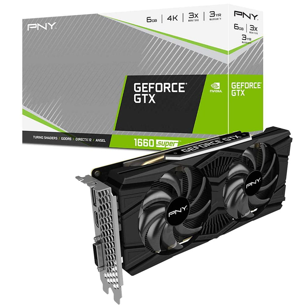 PNY GTX 1660 Super Dual Fan 6Gb GDDR6