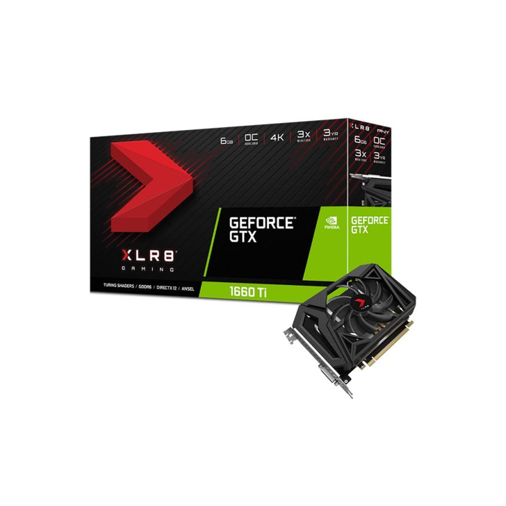 PNY GTX 1660 Ti XLR8 Gaming OC 6Gb GDDR6
