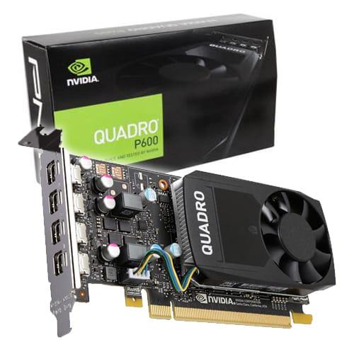 PNY Quadro P600 2Gb GDDR5 DVI