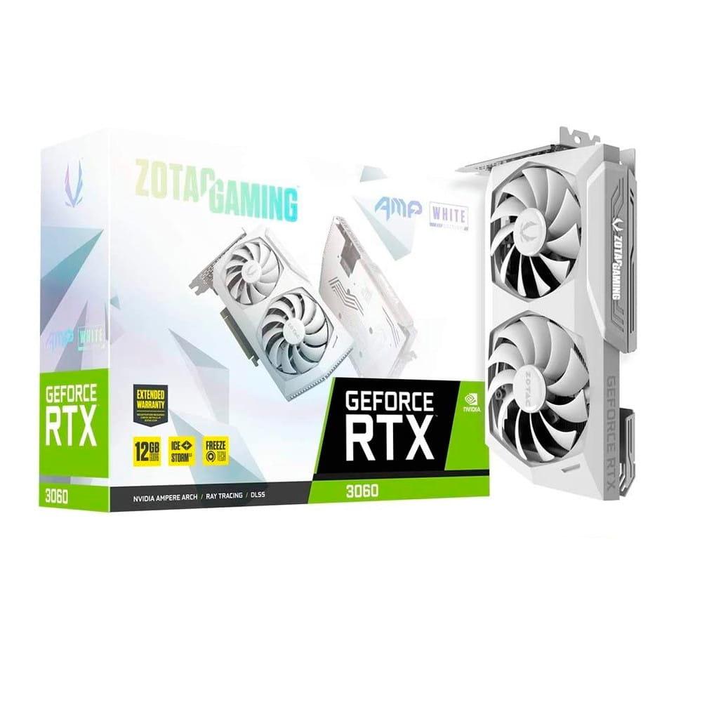 Zotac RTX 3060 AMP White Edition 12Gb GDDR6