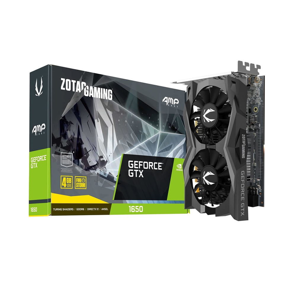 Zotac GTX 1650 Gaming AMP Core 4Gb GDDR6