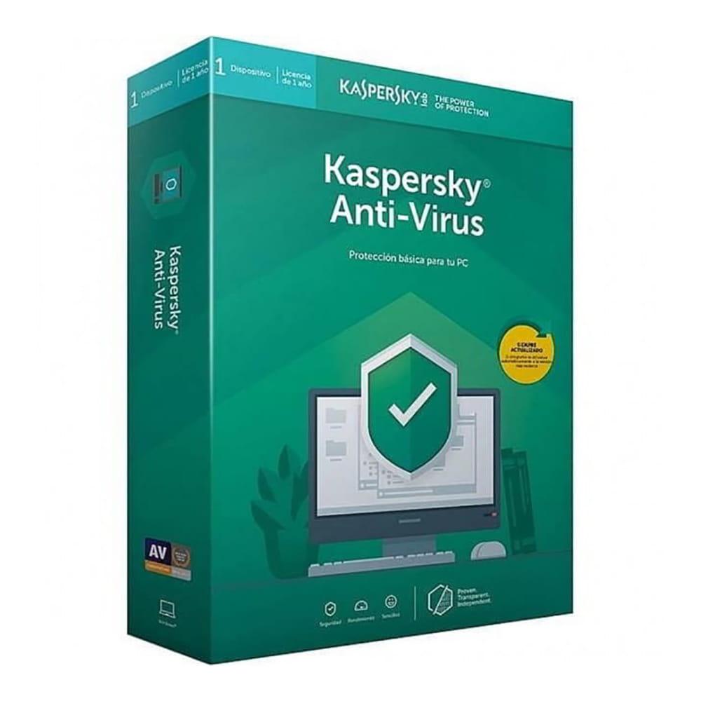 Kaspersky Lab Antivirus 2020 1 Dispositivo 1 Año