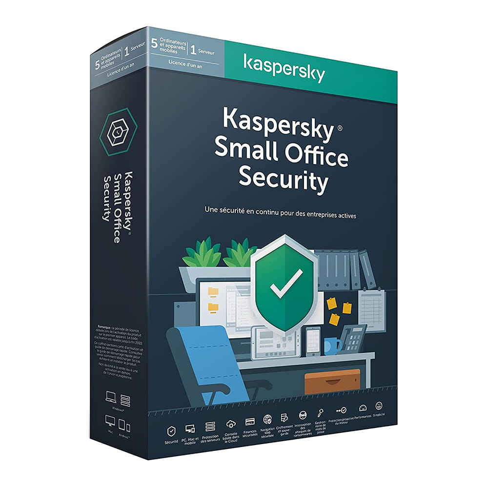 Kaspersky Lab Small Office Security 7. 5 Usuarios + 1 Servidor 1 Año
