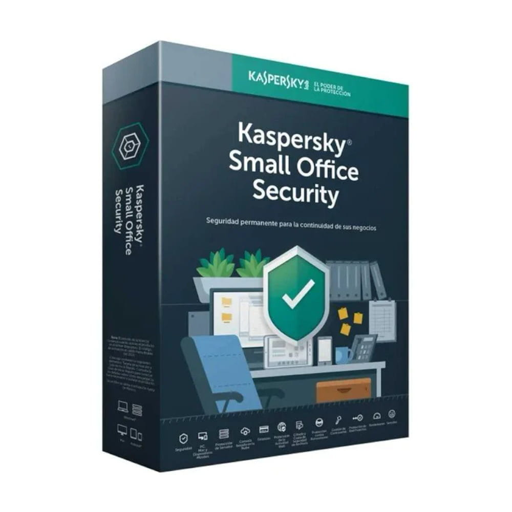 Kaspersky Lab Small Office Security 7. 10 Usuarios + 1 Servidor 1 Año
