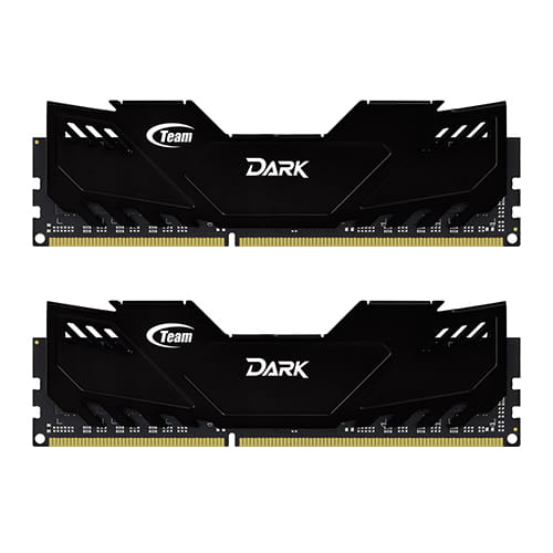 Team Dark Black 8Gb (2x4Gb) DDR3 1600Mhz - REFURBISHED