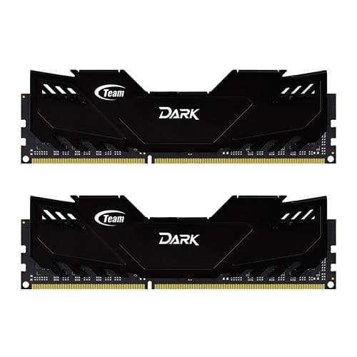 Team Dark Black 16Gb (2x8Gb) DDR3 1866Mhz 1.5V - REFURBISHED