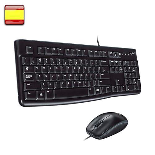Logitech MK120. Kit teclado + ratón.