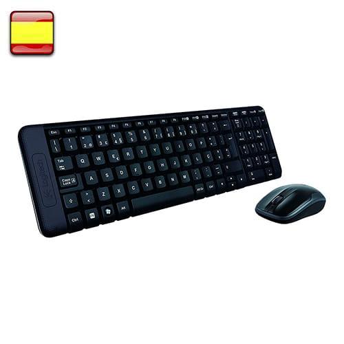 Logitech MK220. Kit teclado + ratón wireless.