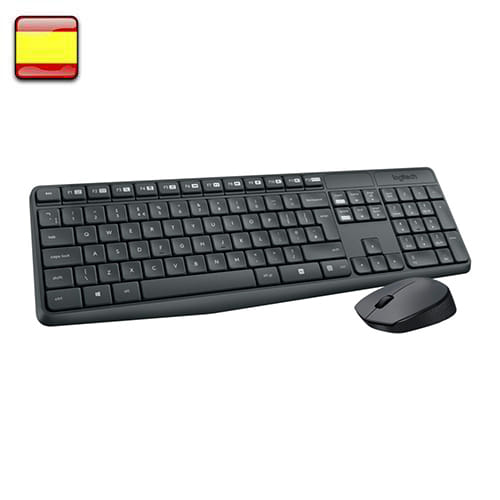 Logitech MK235. Kit teclado + ratón wireless.