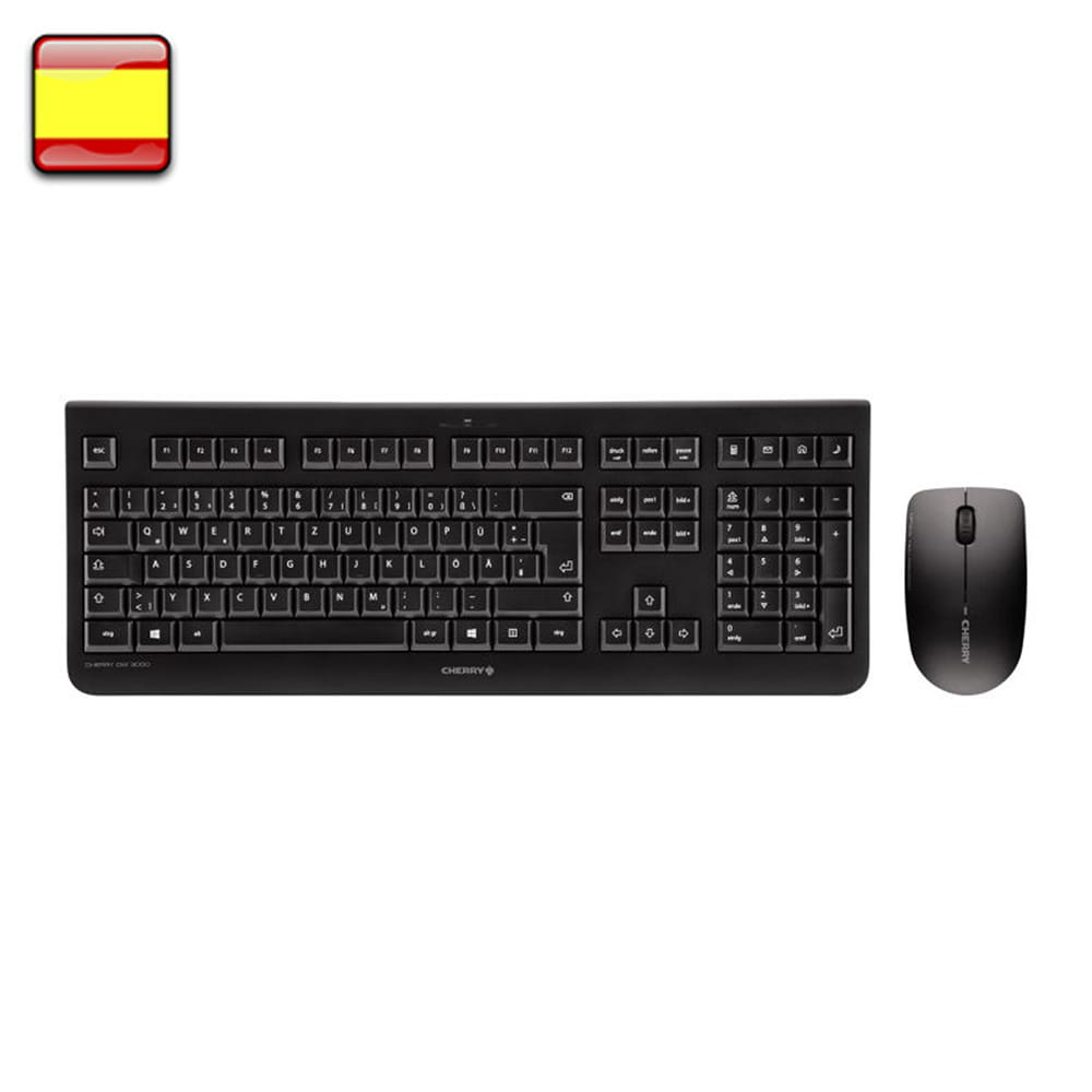 Cherry Kit teclado+ratón DW 3000
