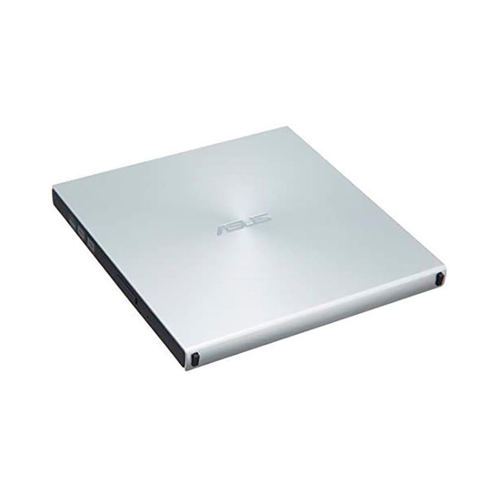 Asus SDRW-08U5S-U. Regrabadora DVD-RW USB Plateada.