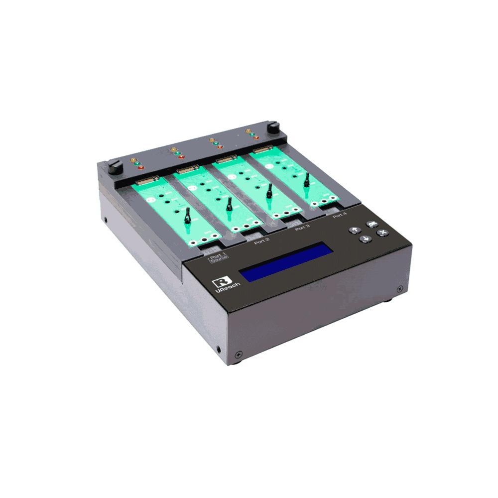 Ureach  Duplicadora  1:3 NVMe M.2 12GB/min