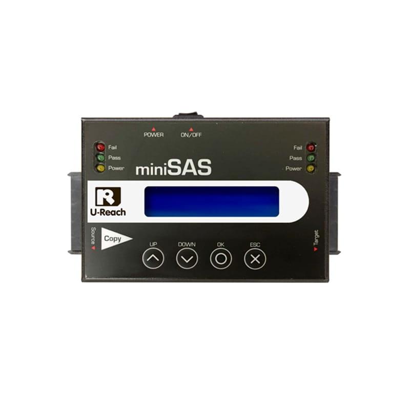 Ureach  Duplicadora  1:1 SAS & SATA portátil