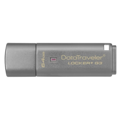 Kingston DataTraveler Locker+ G3 64Gb USB 3.0.
