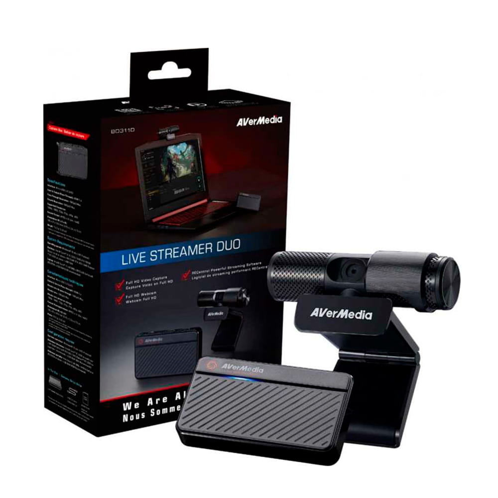 Avermedia Kit Youtuber Streaming GC311+PW313