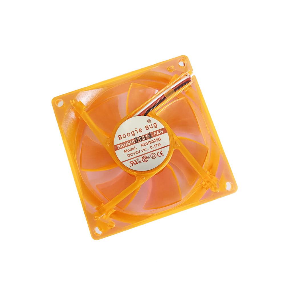 BoogieBug 80x80x25 UV-Naranja