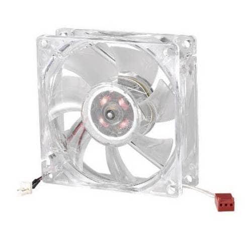 Ventilador COOLERMASTER 80x80x25 BC80 LED Rojo