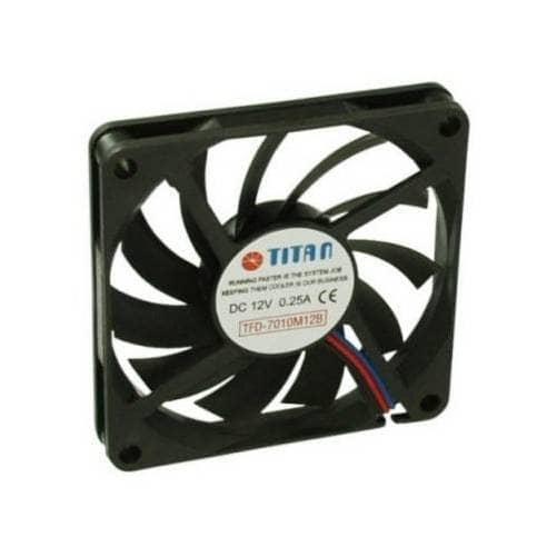 Ventilador TITAN 70x70x10 33 dBa