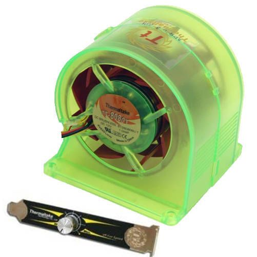 Ventilador Thermaltake XBPRO 2. Verde UV