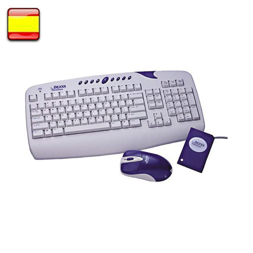 Dexxa teclado+ratón Wireless Desktop
